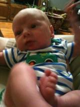 Reading While Breastfeeding aNewborn